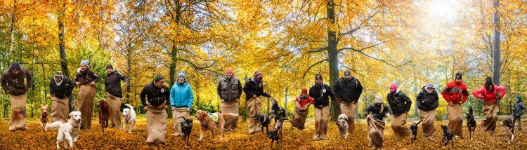 Gruppenbild Rettungshundestaffel Ansbach